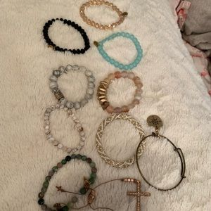 Bracelet Lot: Ermish, Lilly & Laura, Natural Life